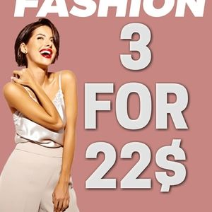 💙all items 3for22$